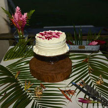 Photo for Signature Belize Weddings Review - Wedding Cake (try the carrot cake it's delicious!)
