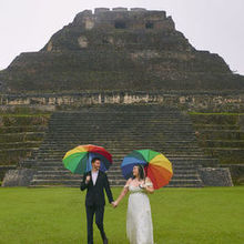 Photo for Signature Belize Weddings Review - Rachael provided these umbrellas!!