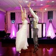 Photo for RPM Entertainment DJ Service & Custom Event Lighting Review - Richard dancing with the Bride and groom
