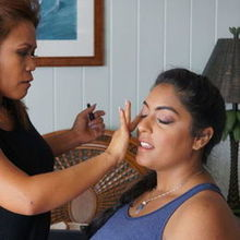 Photo for ANA BAIDET A Makeup Artist Review - Imelda doing the finishing touches