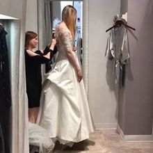 Photo of Leena's Bridal in Carmel, IN - Final fitting