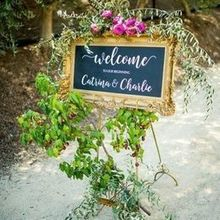 Photo of ADORNMENTS flowers & finery in San Luis Obispo, CA - Welcome sign