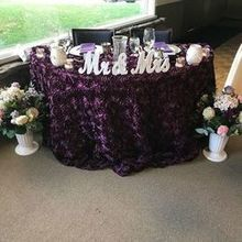 Photo for Events by Christina Review - sweetheart table setup turned out awesome! love it!