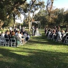 Photo for El Macero Country Club Review - ceremony in The Oaks.Photo by Events by Christina Harris(CH)