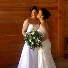 Photo for A Stitch In Time Bridal Services Review - Both of our dresses