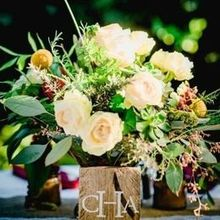 Photo of Cambria Nursery and Florist in Cambria, CA - Our sweetheart tablet centerpiece