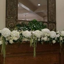 Photo of Fabulous Flowers in New Orleans, LA - Mantle piece at Audubon Clubhouse.