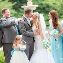 Photo for Precious Petals Review - Picture with the bridesmaid's bouquets