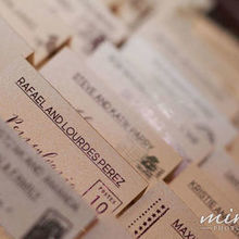 Photo for Miralli Photography Review - Escort card table photos... excluding a lot of special decor