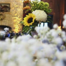 Photo of Bellezza. Fiori. in Pittsburgh, PA - The floral arrangements on the tables.