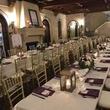 "Photo of Milan Catering and Event Design in Sarasota, FL - ""Feast"" style seating. Perfect for our 78 guests!"