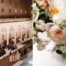 Photo of The Catered Affair at The Boston Public Library in Boston, MA - Photo Credit: Henry & Mac
