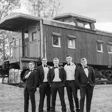 Photo for Whitehall Estate Review - Caboose with my husband and his groomsmen