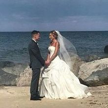Photo for Giorgios Caterers Review - Giorgio's transported us to the beach to capture this moment