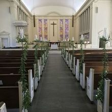 Photo of Stephanie's Secret Garden in Poolesville, MD - church aisle