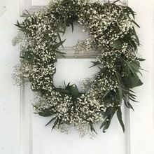 Photo of Stephanie's Secret Garden in Poolesville, MD - more wreaths outdoors