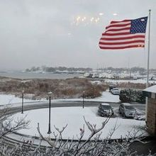 Photo of Harbor Lights in Warwick, RI - Outside wedding day! In the snow