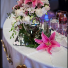 Photo of Laurens Floral Art in Lawrenceville, GA - Extra Flowers were added to the Sweetheart Table