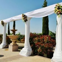 Photo for Florals by Patricia Review - Patricia handled the draping as well as the florals.