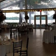 Photo of Glen Foerd on the Delaware in Philadelphia, PA - Stunning views of the water from the reception tent.