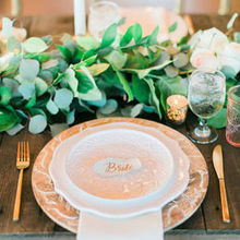 Photo for Tall Drink of Water Floral Design Review - Garland down head table