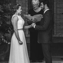 Photo for Reverend Kris Miller Review - right before you may kiss the bride!