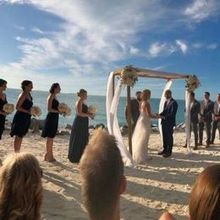Photo for Bagatelle Restaurant Review - Sunset Wedding at Fort Zackery Beach, Key West Florida.
