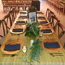 Photo of Savvy Event Rental in Biddeford, ME - Chargers, silverware, napkins