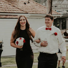 Photo of Flora D' Amore by Stadium Flowers in Everett, WA - Bridesmaid flowers and groomsmen boutonnière.