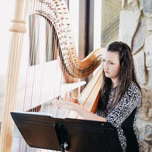 Photo of Claire Marie Stam, Harpist in Greenville, SC - The beautiful and talented Claire!