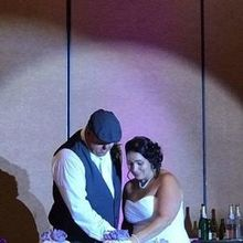 Photo for Sound Productions DJ & MC Service by the DJ Matt Review - Cutting the cake
