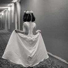Photo of Wisp Resort in Mc Henry, MD - My daughter walking the hotel halls to the ceremony.