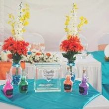 Photo of Wisp Resort in Mc Henry, MD - Our sand ceremony and other decorations.