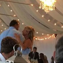 Photo for Flower Girls OBX Review - Lighting in Tent and Drapery on Ceiling