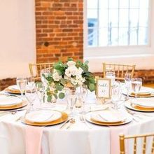Photo for Revolution Mill Events  Review - Our linens and dinnerware provided by RM.