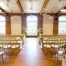 Photo for Revolution Mill Events  Review - Our indoor ceremony set-up.