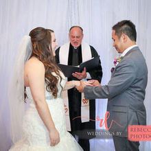Photo for Andrews Wedding Ceremonies LLC Review - Charles making us laugh as Groom loses the words to say.