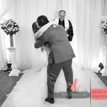 Photo for Andrews Wedding Ceremonies LLC Review - Sealing it with a kiss.