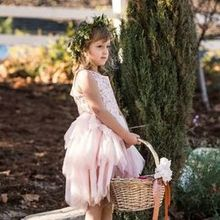 Photo of D & D Floral Design in Los Osos, CA - My flower girl! Crown made by Debbie.