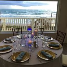 Photo for Harbour House Oceanfront Review - Table Set-up