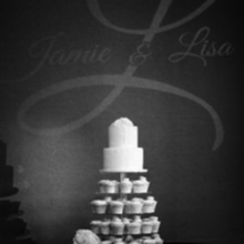 Photo for Bela Sono Music Review - Our cake with pinspot and Gobo.