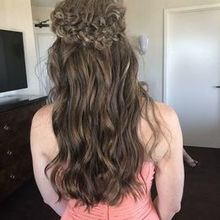 Photo for Christi Reynolds Beauty Review - A bridesmaid's hair