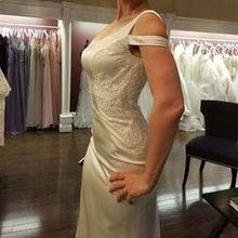 Photo for Soliloquy Bridal Couture Review - Custom lace panel on side of gown