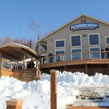 Photo of Alaska Sunset View Resort in Wasilla, AK - The last weekend in March was a good weather choice.