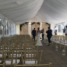 Photo for Prosecco Weddings and Events Review - PW&E constructed this lattice backdrop!