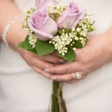 Photo for H.J. Benken Florist & Garden Center Review - beautiful simple wedding bouquet!