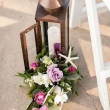 Photo for Eventscapes Inc. Review - Aisle decor which we also used on reception tables