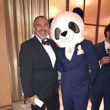 Photo for IL Villaggio Elegant Weddings and Banquets Review - GM Patrick having fun with our guests!