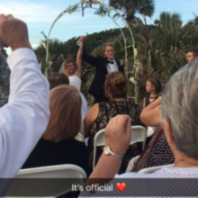 Photo for Simple Seaside Ceremonies Review - Thank you Avis for making it official!