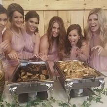 Photo for Pig & Pie Catering Review - My bridesmaids about to dig in!